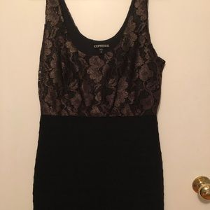 Good and black cocktail dress